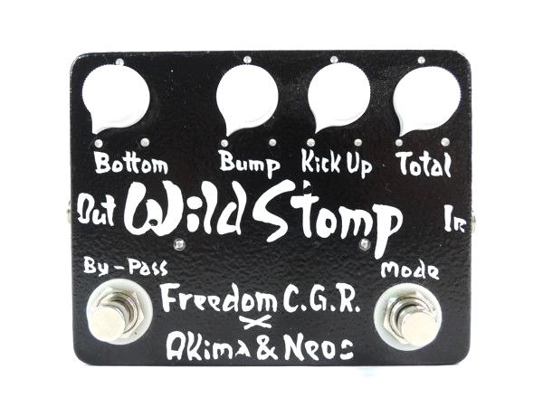 FREEDOM (フリーダム) Freedom C.G.R. x AKIMA & NEOS / Wild Stomp (Black) ベース用エフェクター