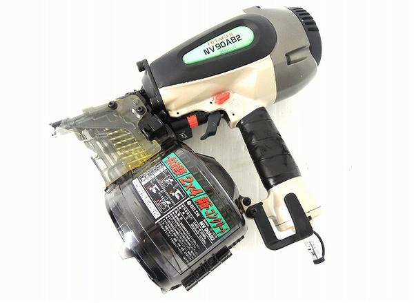 HITACHI 日立 NV90AB2 ロール釘打機 電動工具