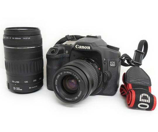 Canon デジタル一眼レフ EOS 50D レンズ2本セット