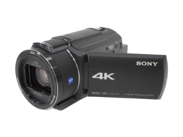 SONY ソニー ビデオカメラ FDR-AX45 ハンディカム ブラック 4K 空間光学手ブレ補正 20倍光学ズーム