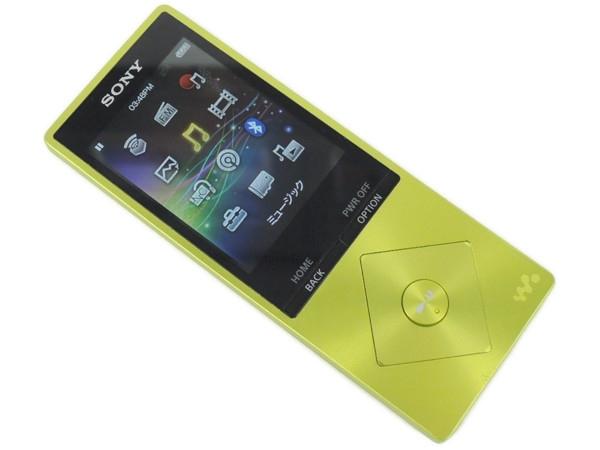 SONY ソニー WALKMAN NW-A25 Y 16GB ハイレゾ ライムイエロー オーディオ