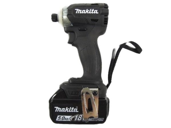 makita マキタ TD148DRTXB インパクトドライバ 18V 5.0Ah バッテリー付 黒
