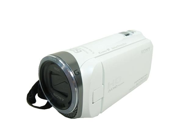 SONY ソニー Handycam HDR-CX420 W ビデオカメラ ホワイト
