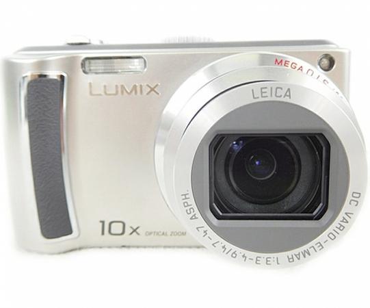 Panasonic パナソニック LUMIX TZ5 シルバー DMC-TZ5-S デジタルカメラ