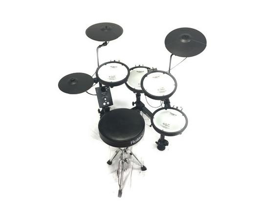 Roland V-Drums Portable TD-1KPX 電子ドラム セット ローランド ドラム フット有