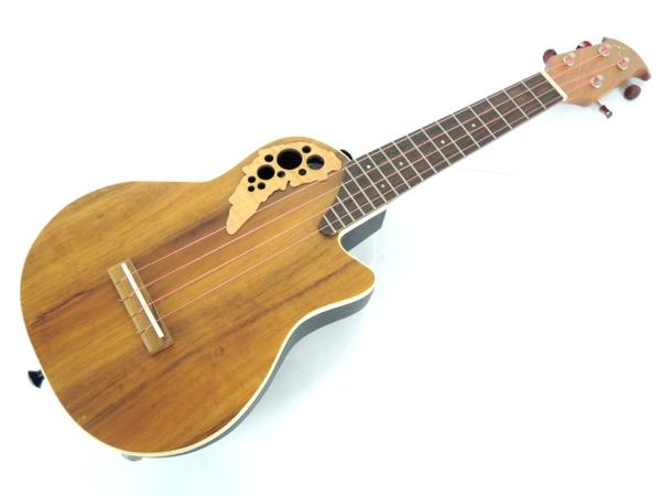Ovation ウクレレ ギター UCE48-4K オベーション コア材 ピックアップ搭載