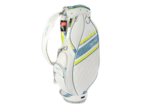 HONMA 8.5型 CB6701 キャディバッグ ホワイト ゴルフ
