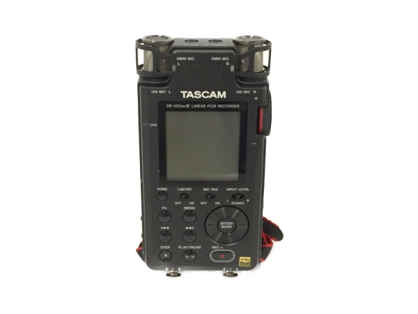 TASCAM タスカム DR-100 MkIII リニアPCM ハンディ レコーダー