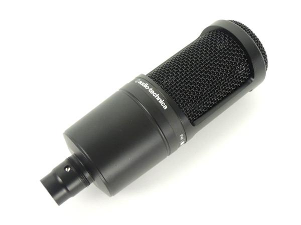 audio-technica AT2020 コンデンサーマイク オーディオテクニカ