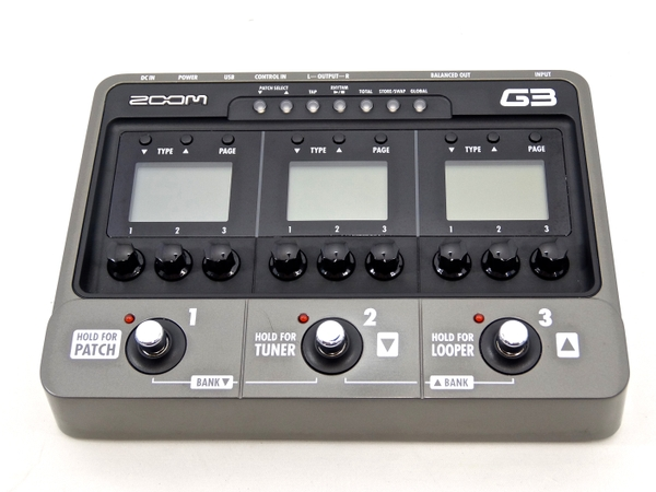 ZOOM ズーム G3 ギター用 エフェクター アンプシミュレーター