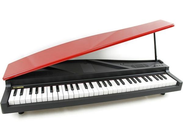 KORG マイクロピアノ 電子ピアノ ミニ鍵盤 61鍵 レッド MICROPIANO