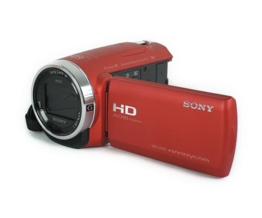 SONY ソニー  HDR-CX680 デジタル HD ビデオカメラ レコーダー レッド