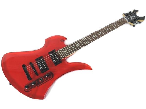 B.C.Rich アクリル Mockingbird Limited Edition エレキ ギター 弦楽器 楽器 ソフトケース付