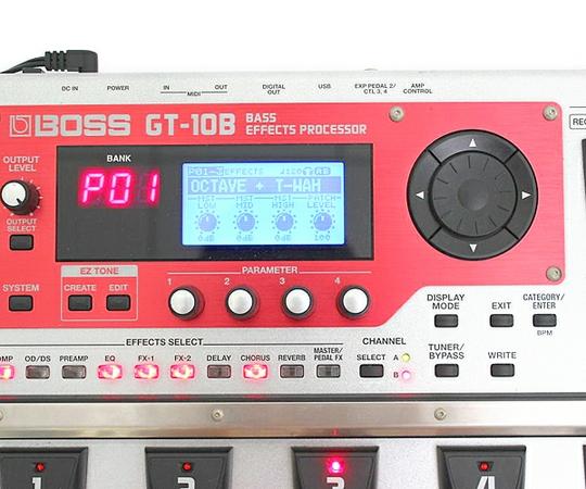 BOSS ボス マルチ・エフェクター GT-10B ベース Roland