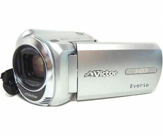 JVC ビクター ビデオカメラ GZ-MG760 + DVDライター セット【予備バッテリー付】