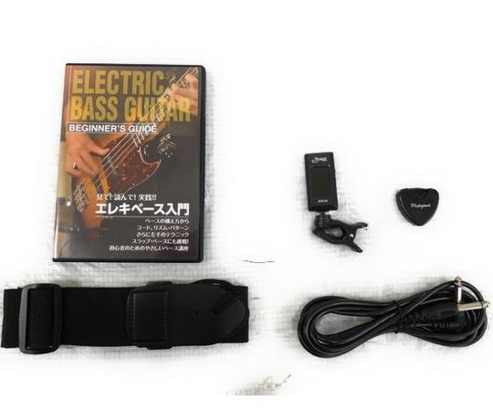 エレキベース 初心者 入門セット 教則DVD付 プレシジョンベースタイプ PhotoGenic  PB-240/BK ブラック