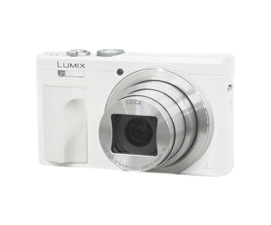 Panasonic パナソニック LUMIX DMC-TZ85-W デジタルカメラ コンデジ 4K ホワイト Wi-Fi
