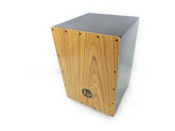 LP カホン LP1435 木製 打楽器 ケース付き パーカッション