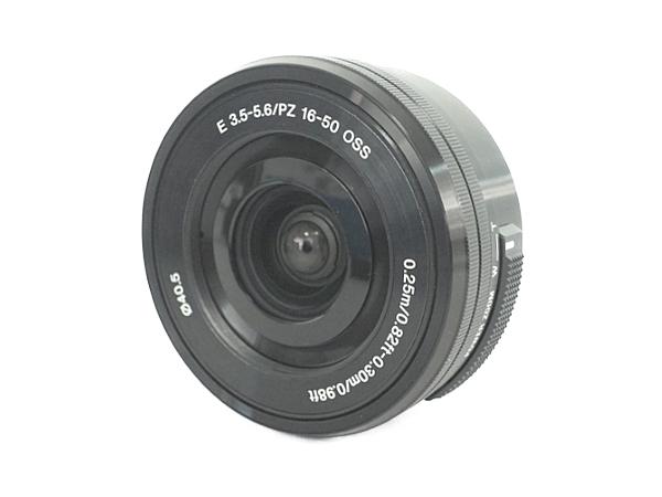 SONY ソニー ミラーレス一眼 α6000 パワーズーム レンズキット ILCE-6000L デジタル カメラ ブラック