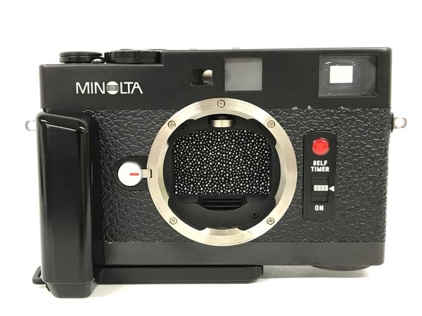 MINOLTA CLE フィルム カメラ ブラック ビンテージ レンジファインダー