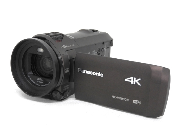 Panasonic パナソニック 4K ビデオカメラ HC-VX980M-T ブラウン デジタル カメラ あとから補正