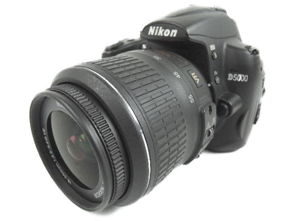 Nikon ニコン D5000 レンズキット D5000LK カメラ デジタル一眼レフ ブラック