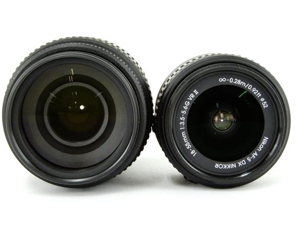 Nikon ニコン 一眼 レフ D5500 ダブルズームキット ブラック カメラ デジタル (5)