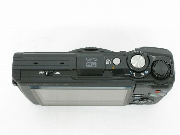 OLYMPUS オリンパス 防水カメラ tough TG-5 工事キット 工一郎 デジタル カメラ ブラック コンデジ デジカメ 4K 1200万画素 防塵 防滴