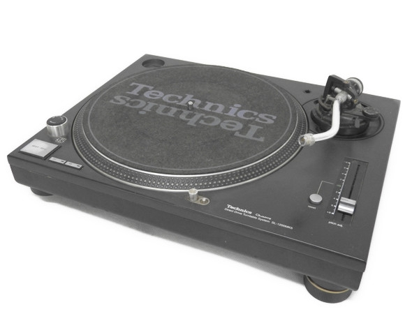 Technics テクニクス SL-1200MK5-K DJ ターンテーブル クォーツシンセサイザ DDプレーヤー ブラック