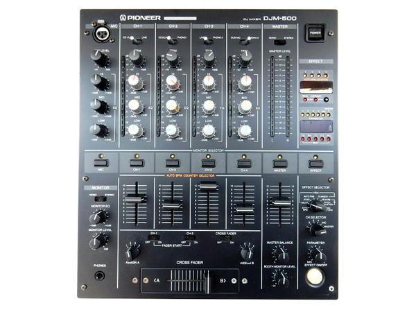 Pioneer パイオニア DJM-500 DJミキサー プロフェッショナル用