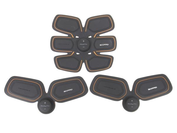 MTG SIXPAD アブズフィット + ボディフィット EMS 腹筋パッド 3点セット