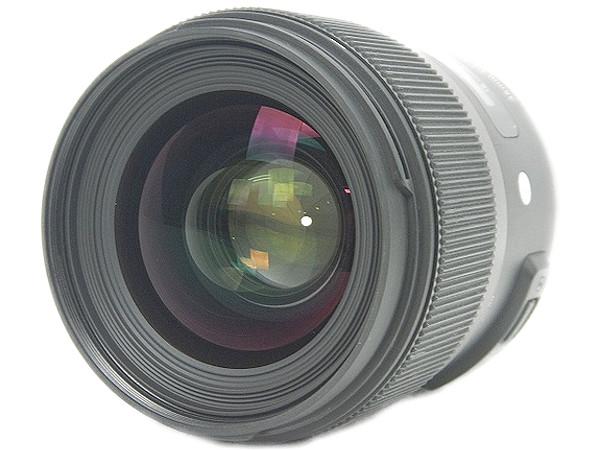 SIGMA シグマ 35mm F1.4 DG HSM Nikon ニコン用 カメラレンズ ブラック