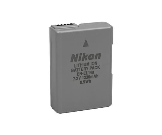 [予備バッテリー]Nikon ニコン EN-EL14a (D5600/D5500/D5300/D3400/D3300用)[単体では注文できません]