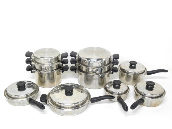 Amway アムウェイ クイーンクック 21ピース フライパン 鍋 調理器具