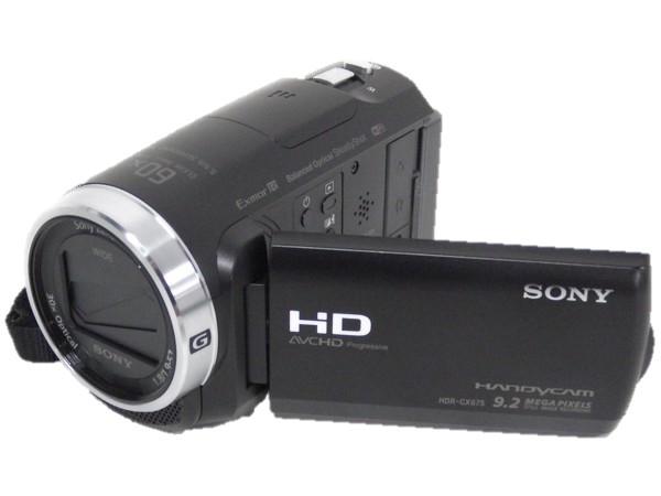 SONY ソニー HANDYCAM HDR-CX675 B デジタルビデオカメラ ブラック