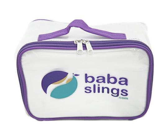 Baba Slings 抱っこひも ベビースリング ピンクネイビー TWO007