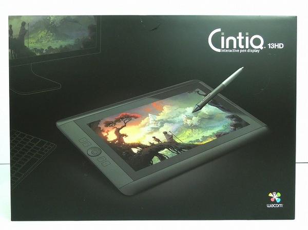 WACOM CintiQ DTK-1300/KO ペンタブレット ブラック 13HD