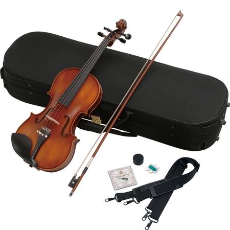 ヴァイオリン 4/4サイズ 弓・肩当て付き バイオリン ハルシュタット  V-28