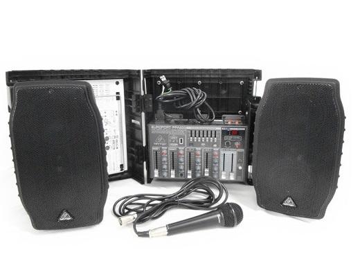 BEHRINGER ベリンガー PPA200 ポータブル PA システム マイク スピーカー