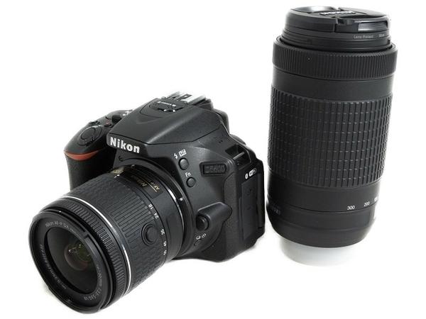 Nikon ニコン 一眼レフ D5600 ダブルズームキット デジタル カメラ Bluetooth