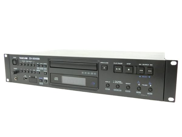 TASCAM CD-200SB CDプレイヤー デッキ 音響 オーディオ