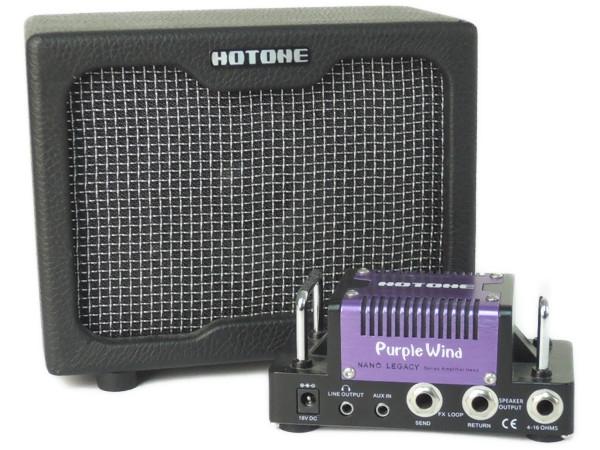 HOTONE HOTWIND Purple wind NANO LEGACY cab セット ギター用 エフェクター アンプ