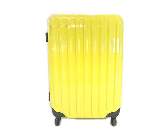 エスケープ 軽量 スーツケース 4~7泊 4輪 イエロー 80L