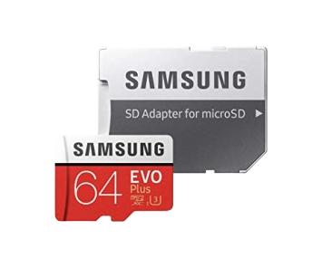 SDカード microSDXCカード (64GB/SDHC/SDカードアダプタ付き/Class10 UHS-I U3対応) 記録メディア カメラ [単体での注文不可]