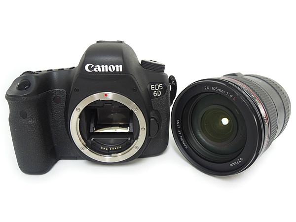 Canon キヤノン EOS 6D EF24-105L IS USM レンズキット EOS6D24105ISLK デジタル一眼レフ カメラ