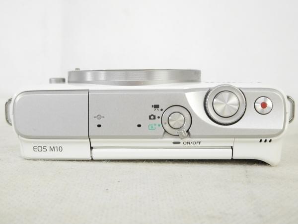 Canon キヤノン ミラーレス 一眼 EOS M10 レンズキット ホワイト カメラ EOSM10WH-1545ISSTMLK (3)