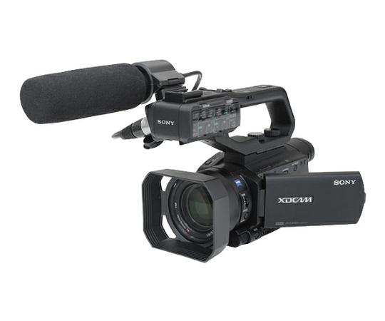 SONY ソニー 業務用 ビデオカメラ PXW-X70 XDCAM メモリーカムコーダー 4K未対応 ガンマイク付