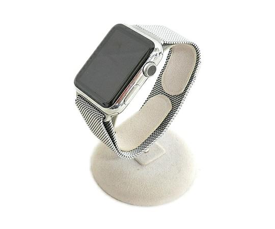 Apple アップル Apple Watch 42mm MJ3Y2J/A ステンレススチール ミラネーゼループ スマートウォッチ ウェアラブル