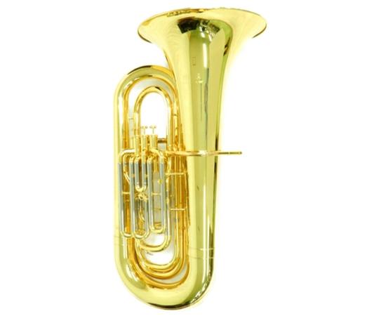 YAMAHA ヤマハ チューバ YBB-321II イエローブラス 4ピストン B♭管