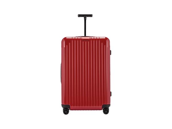 RIMOWA リモワ スーツケース 59L 4〜5泊 エッセンシャル ライト チェックインM 82363654 グロスレッド 4輪 マルチホイール TSAロック